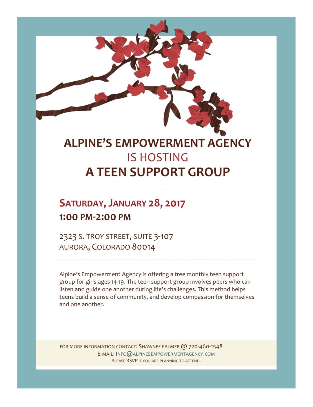 flyer-teen-group
